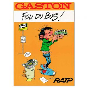 Gaston – Fou Du Bus!